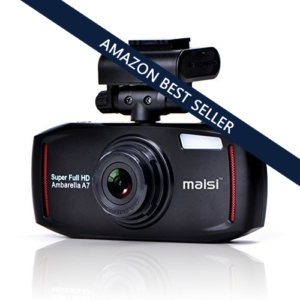 MAISI Full HD Dash Cam 4 Mega Pixel Car Recorder