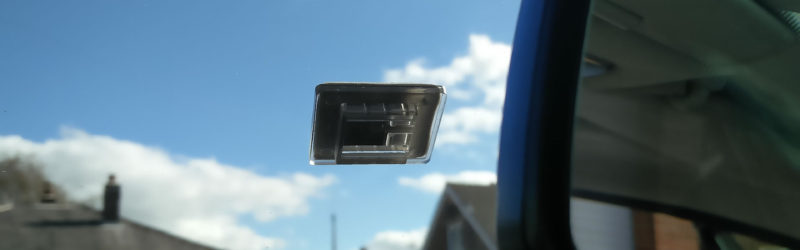Maisi Dash Cam Adhesive Mount On Windscreen